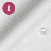 レディースオーダーメイドシャツ - ライトパープルドビーストライプ