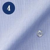メンズオーダーメイドシャツ - ブルーハケメ